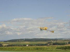 !00 Jahre  Flug Ÿber den €rmelkanal mit der Bleriot